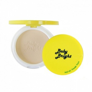 Baby Bright Anti-Ac Powder Pact (No.23 Natural Beige)
