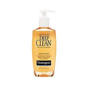 Neutrogena Canada Deep Clean Facial Cleanser, For Normal To Oily Skin