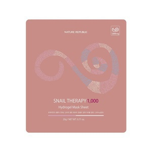 Nature Republic Snail Therapy 1000 Hydrogel Mask Sheet