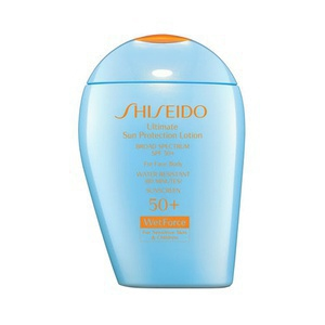 Shiseido Wetforce Ultimate Sun Protection Lotion Spf 50+ For Face/Body