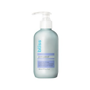 Bliss Pore Patrol Clay-To-Foam Purifying Cleanser With Willow Bark