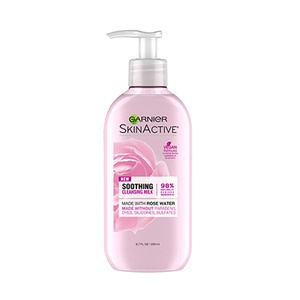 Garnier Skinactive Soothing Milk Face Wash With Rose Water