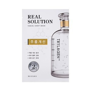Missha Real Solution Tencel Sheet Mask [Wrinkle Care]