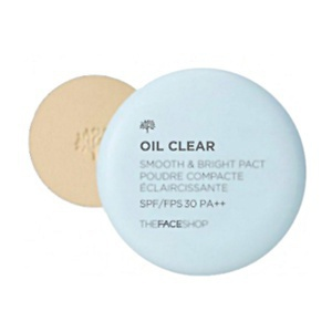 The Face Shop Oil Clear Smooth & Bright Pact