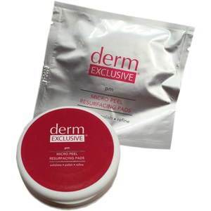 Derm Exclusive Micro Peel Resurfacing Pads