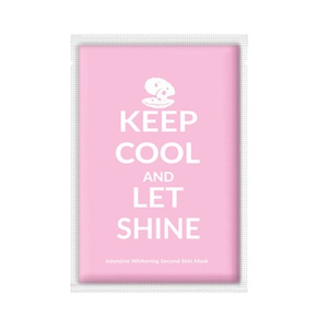 Adaline Keep Cool And Let Shine Intensive Whitening Second Skin Mask