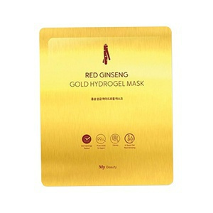 My Beauty  Red Ginseng Gold Hydrogel Mask