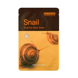 About Me Essential Snail Mucus Mask Sheet