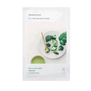 Innisfree My Real Squeeze Mask (Broccoli)