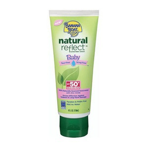 Banana Boat Natural Reflect Baby Sunscreen Lotion Spf 50