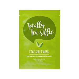 Bath & Bodyworks Totally Tea-Riffic Face Sheet Mask
