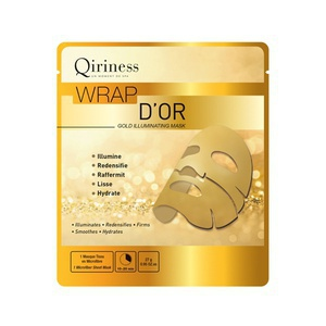 Qiriness Wrap D'Or Mask