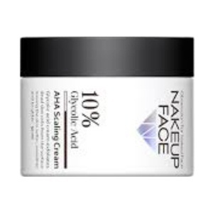 Nakeup Face 10% Glycolic Acid Aha Scaling Cream