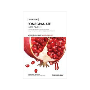 The Face Shop Real Nature Face Mask (Pomegranate)