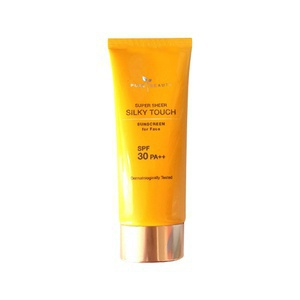 Pure Beauty Super Sheer Silky Touch Sunscreen For Face Spf 30 Pa++