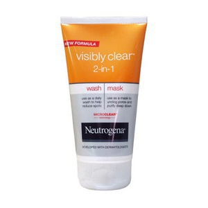 Neutrogena Neutrogena Visibly Clear 2 In 1 Wash And Mask