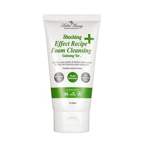 Label Young Shocking Effect Recipe Foam Cleansing