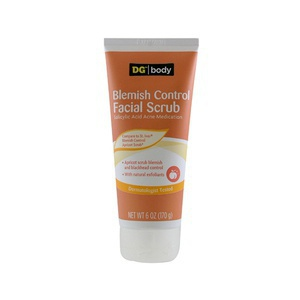 Dollar General Body: Blemish Control Facial Scrub