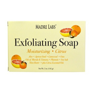 Madre Labs Exfoliating Bar Soap With Marula And Tamanu Oils