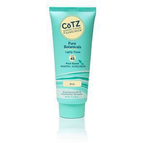 Cotz Pure Botanicals Lightly Tinted Spf 45